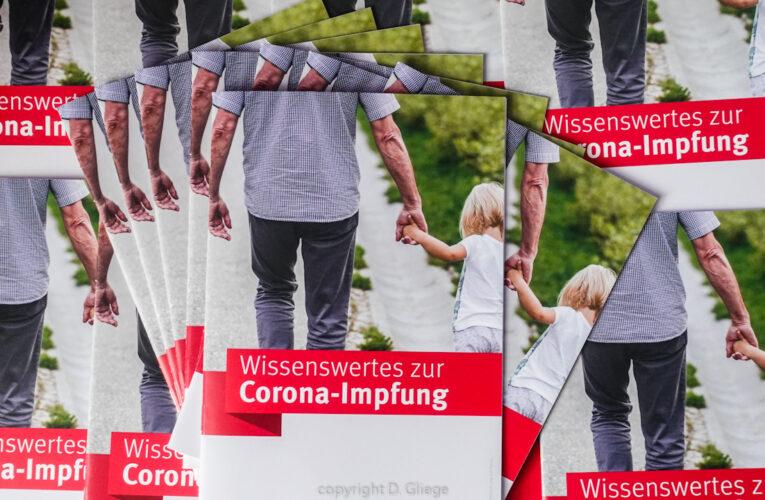 Neue Broschüre zur Impfaufklärung da!