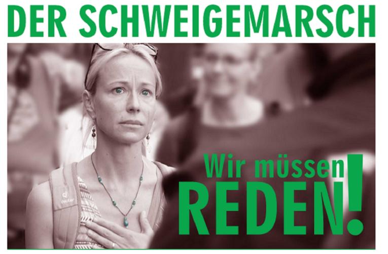 20.02.2021 Schweigemarsch Berlin