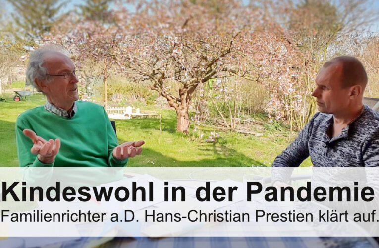 Kindeswohl in der Pandemie / Familienrichter a.D. Hans-Christian Prestin klärt auf.