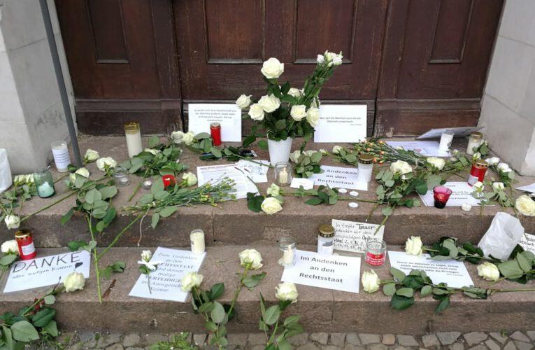 """01 05 2021 – Köpenick """"Weiße Rosen für den Rechtsstaat"""""""