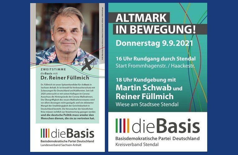 Ausflugstipp 9.9.2021 (Do.) / Altmark
