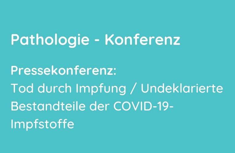"Coronaausschuss Pressekonferenz ""Tod durch Impfung[…]"" 20.09.2021 16:00 Uhr"