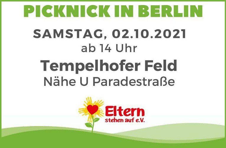 Eltern-Kind-Picknick / Tempelhof 2.10.